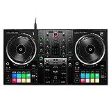 Hercules DJControl Inpulse 500 (2-Deck DJ Controller, Beatmatch Guide, IMA, 16 RGB Pads, integr....
