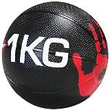 RJJBYY Gummi-Medizinball, Gummi-Solid-Ball-Hüpfball, Gummi-Sprungball, Hochleistungsball,...