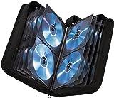 Hama CD Tasche fr 80 Discs / CD / DVD / Blu-ray (Mappe zur Aufbewahrung , platzsparend fr Auto und...