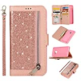 Snow Color Galaxy S10e Hülle, Premium Leder Tasche Flip Wallet Case [Standfunktion]...