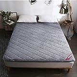 JYAcloth Futon Matratze,Flanell Matratzenauflage,traditionell Japanischen Boden Futon,verdicken...