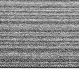 Tidyard Teppichfliesen Filzfliese Strapazierfähiger Teppich Bodenbelag, 20 STK. 5 m² 50x50 cm,...