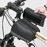 Fahrradrahmentasche Elastic Band Cycling Tragbare Reise Wasserdichter Touchscreen-Reflexstreifen...