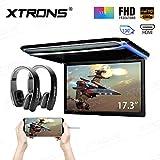 """XTRONS 17,3"""" Digital TFT FHD 16:9 Bildschirm für Auto Bus unterstützt 1080P Video Auto Overhead..."""