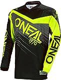 0008-203 - Oneal Element 2018 Racewear Motocross Jersey M Schwarz Hi-Viz