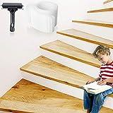 Bojim Antirutsch Treppe Streifen transparent Klebeband 10 x 80cm Set Stuffenmatten für Treppe...