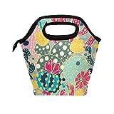 Wamika Lunchbox/Lunchbox für den Sommer, Kaktus, für Damen, isoliert, für Schule, Arbeit, Büro