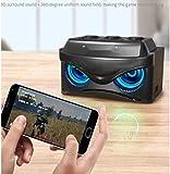 Na Drahtloser Bluetooth Mini Lautsprecher, Zu Hause Im Freien 3D-Surround-Sound-Handy-Plug-In-Karte...