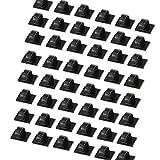 50 Stück Mehrzweck-Clips selbstklebende Kabelclips Kabel-Befestigung Kabelmanagement Premium...