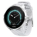 Suunto 9 GPS-Sportuhr mit langer Batterielaufzeit und Herzfrequenzmessung am Handgelenk, Weiß,...