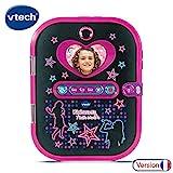 Vtech – Kidisecrets Selfie Music Elektronischer Terminplaner 163675, Schwarz