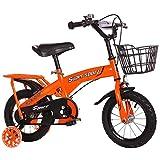 Ordioy Kinder-Fahrrad-Stahlrahmen Kinder Fahrrad, 12' 14' 16' 18' Mit Stützrad Für 2-9 Jahre Alte...