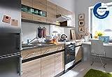 Küche 240cm von FIWODO - ERWEITERBAR - günstig + schnell - Einbauküche Junona Line Set 240 - 4...