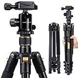 K&F Concept® TM2324 Kamerastativ Reisestativ Fotostativ Kamera Stativ für Canon Nikon Sony...