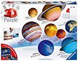 Ravensburger 3D Puzzle Planetensystem für Kinder ab 7 Jahren - 8 Puzzleball-Planeten als...