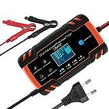 URAQT Ladegerät Batterie Auto, Autobatterie Ladegeräte 8A 12V/24V, Vollautomatisches...