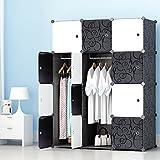 PREMAG Kleiderschrank Garderobe für hängende Kleidung, Kombischrank, modularer Schrank für...