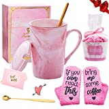 Geschenk Set für Frauen - Kaffeetassen mit Socken 'If You Can Read This, Bring Me Some Coffee' -...