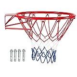 N / A Elastischer Ring des Basketballkorbs, Basketballkorb, Basketballkorb, verschleißfest, Lange...