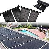 LWQ Solar-Heizung, Solar Pool Heizung Warmwasser Mat Sun Heizung Kit Solar Panel Kit Warmer