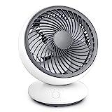 ACADGQ USB Ventilator, Tischventilator leise mit 3 Geschwindigkeit Mini Ventilatoren, 5...