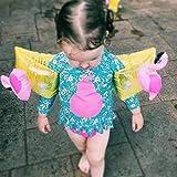 Wei Hongyu Aufblasbare Schwimmflügel in Flamingo-Form, für Outdoor-Wassersport, Schwimmflügel,...