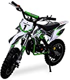 Kinder Mini Crossbike Gazelle 49 cc 2-takt inklusive Tuning Kupplung 15mm Vergaser Easy Pull Start...