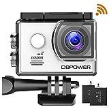 DBPOWER EX5000 WIFI Action-Cam und Unterwasserkamera, Sports Cam, Wasserdicht, WLAN, 14MP, Full HD...