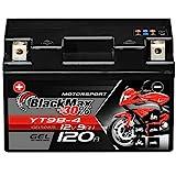 BlackMax YT9B-4 Motorrad Batterie GEL 12V 8Ah YT9B-BS Yamaha YZF-R6 GT9-B4 50815