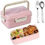 SunAurora Bento Boxen, Lunch Box, 1000ML Brotzeitbox Auslaufsicher, Mikrowellengeeignet und...