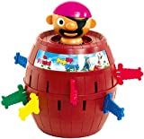 TOMY Kinderspiel 'Pop Up Pirate', Hochwertiges Aktionsspiel fr die Familie, Piratenspiel zur...