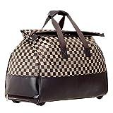 Adlereyire Laptop Trolley-Tasche mit hohen Kapazität Stilvolle Leicht Seesack Convenient Roller...