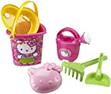 Simba 107113031 - Hello Kitty - Sand- Eimer-Garnitur sortiert, 6-tlg.,