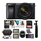 Sony a6400 Spiegellose Digitalkamera Bundle, w/ 18-135mm