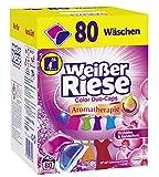 Weißer Riese Color Duo-Caps, Aromatherapie Orchidee & Sandelholz, Colorwaschmittel, 80...