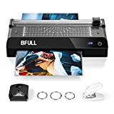 BFULL 6-in-1-Laminiergerät mit Touchscreen, Maschinenset Laminiergerät, A4, Eckabrunder,...