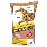 JOSERA Mash Rapid (1 x 15 kg) | Premium Pferdefutter Mash | Pferdefutter mit Leinsamen | hochwertige...