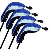 Andux Tasche Hybrid-Golfschlger-Set 4mit austauschbar No. Etikett MT/hy04(schwarz/blau) MEHRWEG