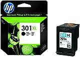 HP 301XL Schwarz Original Druckerpatrone mit hoher Reichweite für HP Deskjet 1000, 1010, 3000,...