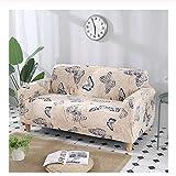wjwzl Kreativer bedruckter Sofa-Überzug, Polyesterfaser, elastisch, rutschfest, maschinenwaschbar,...