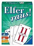 Ravensburger Elfer raus Kartenspiel, Gesellschaftsspiel 2 - 6 Spieler, Spiel ab 7 Jahren für Kinder...