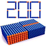 Astory Eva Blue Foam Darts, 7,2 cm 200 PCS Nachfüllschaum Bullet Darts Kompatibel mit Nerf Guns...