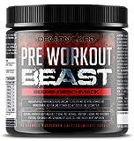 Pre Workout Beast - Pre Workout Booster mit Vitamin B12 was zur Verringerung von Müdigkeit &...