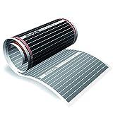 5m² floorino elektrische Fußbodenheizung KomplettPaket infrarot Technologie (SUPER SPARSAME 80...