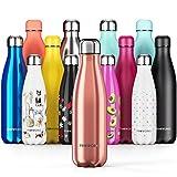 Proworks Edelstahl Trinkflasche   24 Std. Kalt und 12 Std. Hei - Premium Vakuum Wasserflasche -...