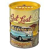Nostalgic-Art - Volkswagen VW Bulli - Let's Get Lost Spardose, Geschenke für VW Bus-Fans, als...
