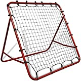 EBTOOLS Fußballnetz, verstellbares Rückprallnetz, Fußball-Rückprallnetz, Garten-Fußballtor mit...