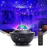 LED Sternenhimmel Projektor, Kinder Nachtlicht Baby Sterne Lampe mit Fernbedienung/Bluetooth...