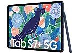 Samsung Galaxy Tab S7+, Android Tablet mit Stift, 5G, 3 Kameras, großer 10.090 mAh Akku, 12,4 Zoll...