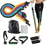 YBG Coresteady Widerstandsbänder Exercise Equipment Bis Zu 100 Lbs Workout Bands Kit Gym Gewichte...